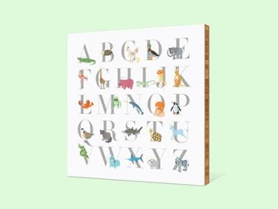 animal-alphabet-display