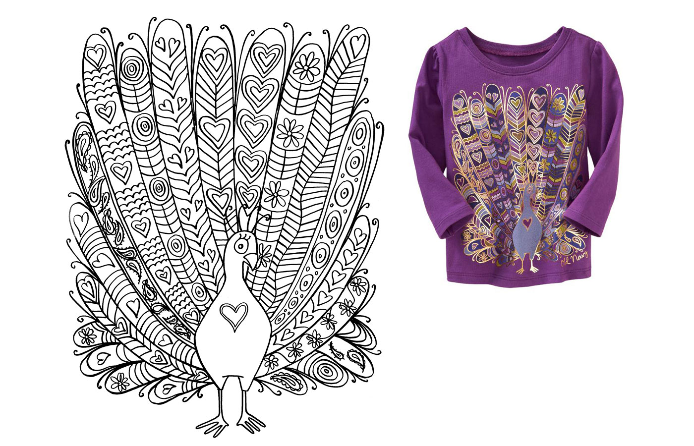 old-navy-peacock-girls-shirt