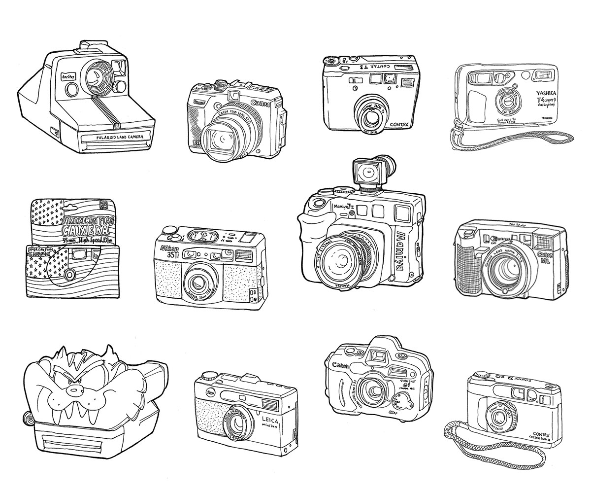 renee-lusano-cameras-illustration